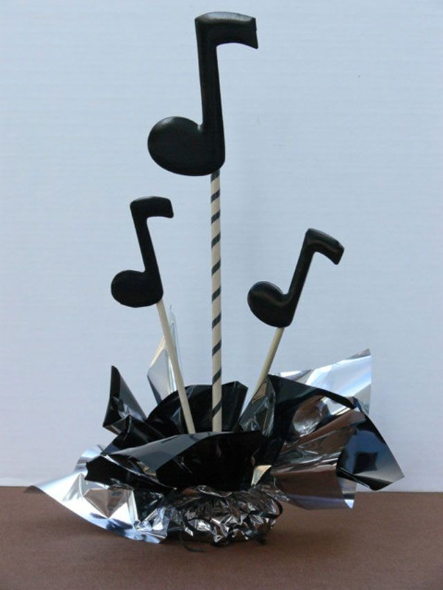 Diy music theme centerpieces kits and supplies videos
