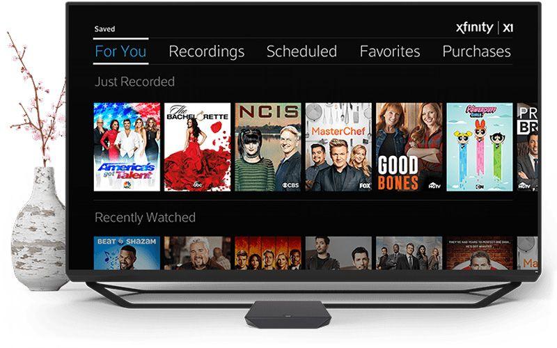 X1 Cloud DVR Digital cable tv, Comcast cable, Voice remote