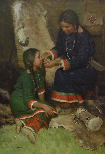 """""""Preparing for the Ceremony"""" -- by Z. S. Liang"""