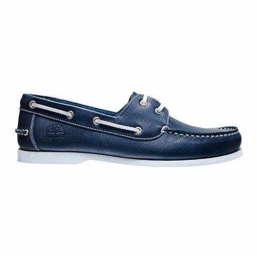 revisa 88714 f2904 Zapato Nautico Timberland Cuero Clasico Acordonado | 03 ...