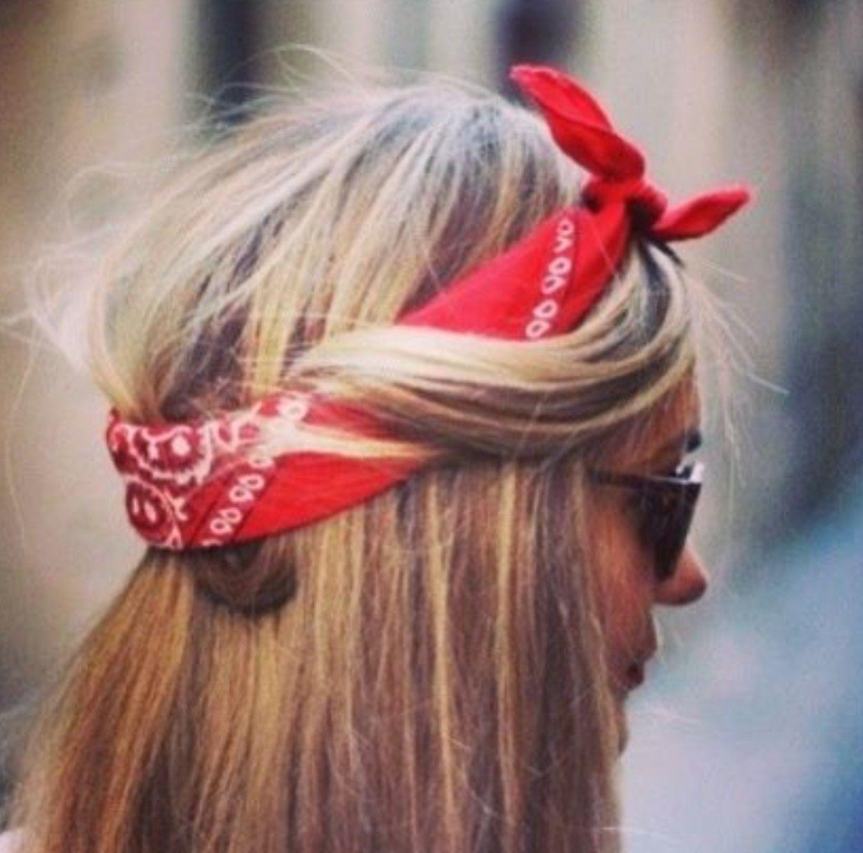 3 Ways To Wear Your Bandana #80s #style #fashion #bandana