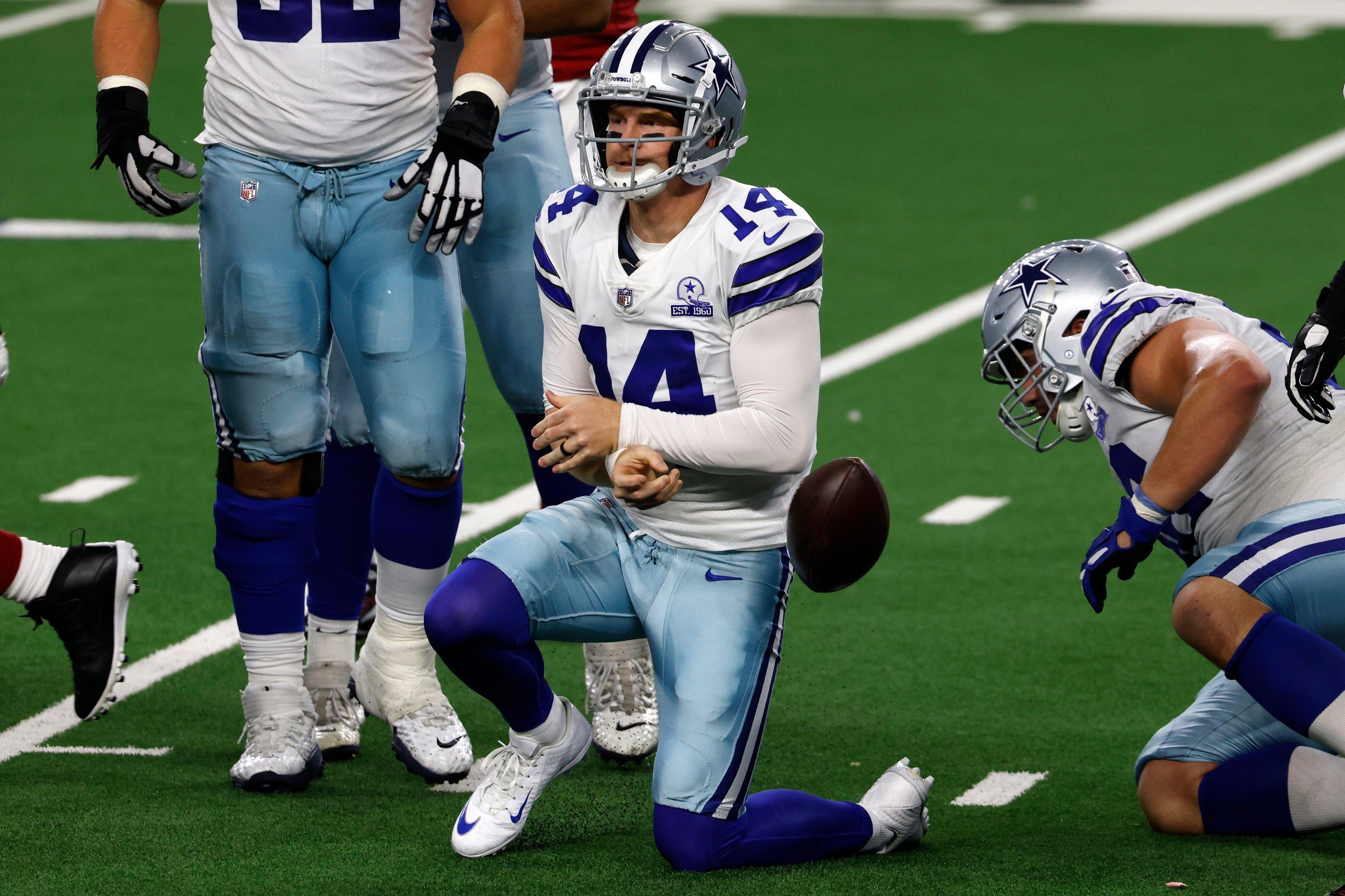 Cowboys Come Undone Suffer Blowout Loss To Cardinals In First Game Without Dak Prescott Dak Prescott Cowboys Dak