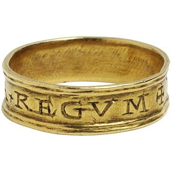 Ring    Place of origin:  England, Britain     Date:  1555     Artist/Maker:  Deering, Nicholas (maker)    Materials and Techniques:  Engraved gold