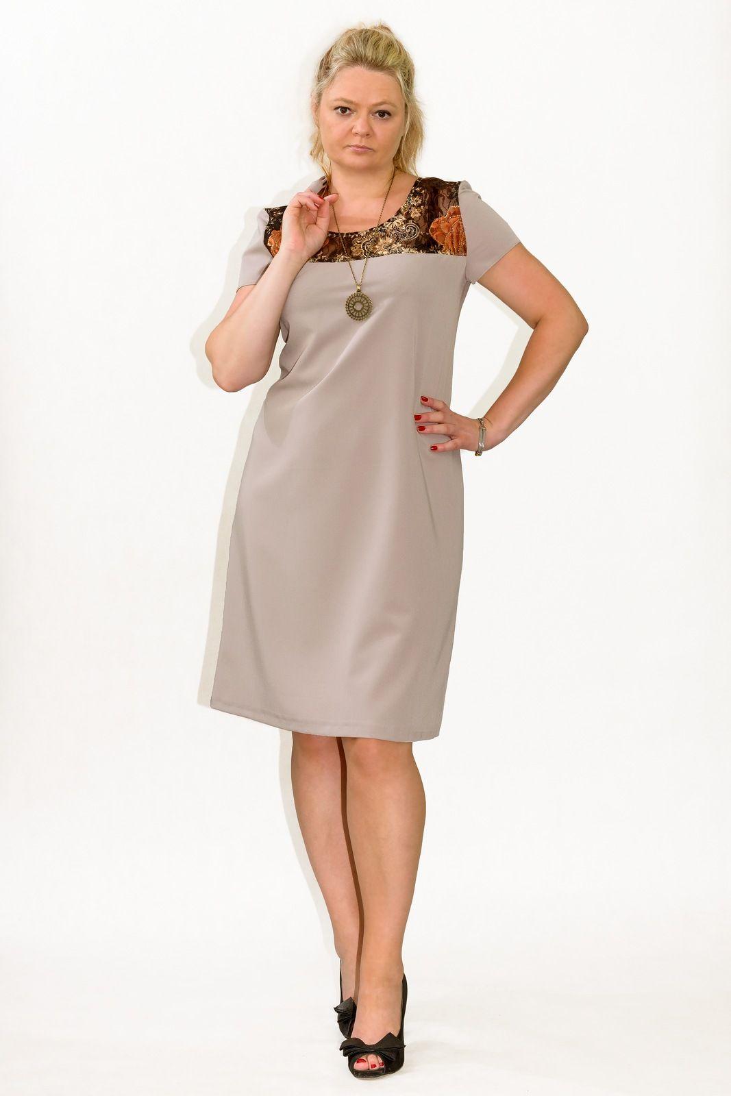 a28ecfd048  Elegankie  Sukienki  XXL  plus  size ANEMONE 38-60