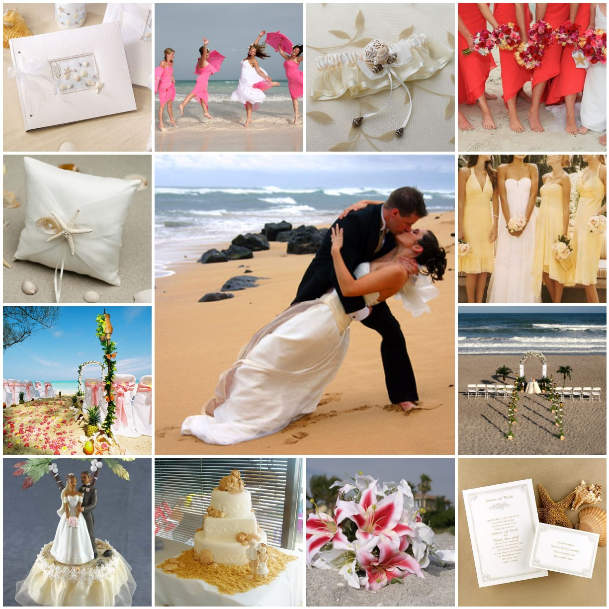 Beach Wedding Ceremony Playlist: Wedding Themes, Wedding, Gold Wedding Decorations