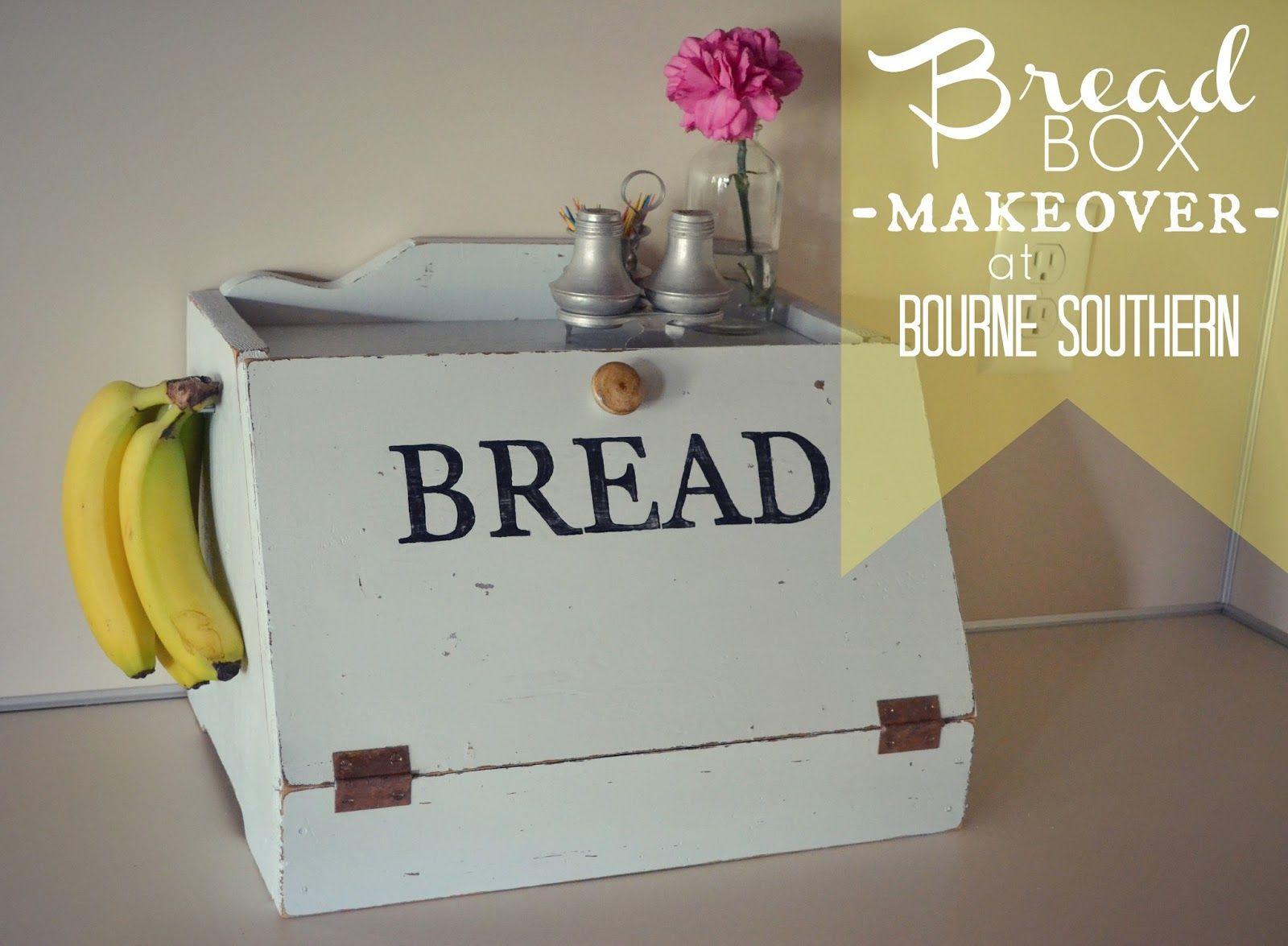 Tin bread box drawer insert - Bourne Southern Bread Box Makeover
