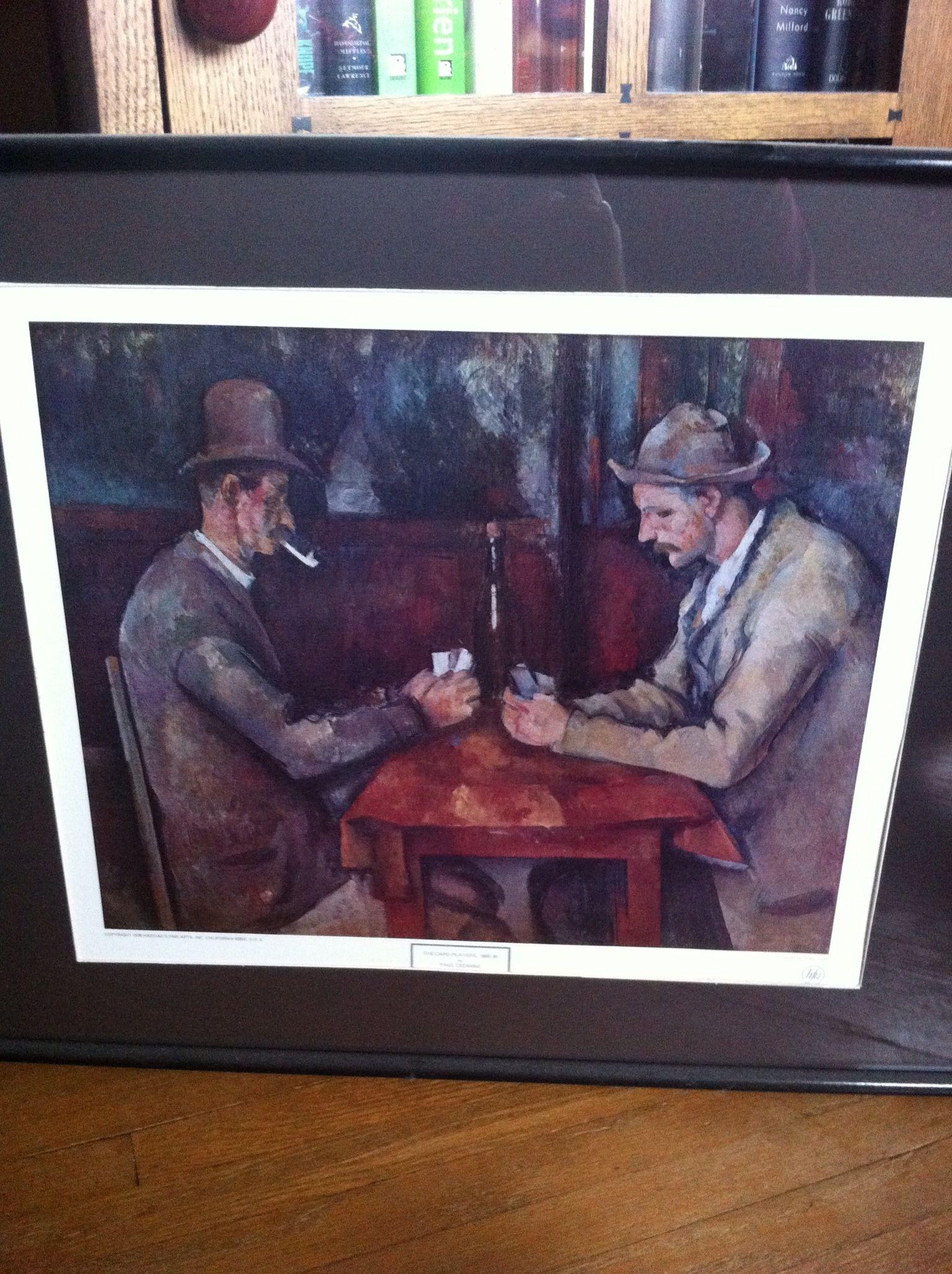 Love Art - The Card Players - Cezanne