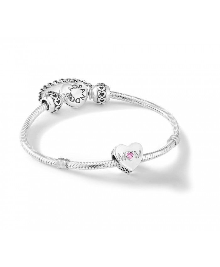 6f8b91595 CENTRE OF MY HEART BRACELET - pandora mother's day charms for mum | UK sale