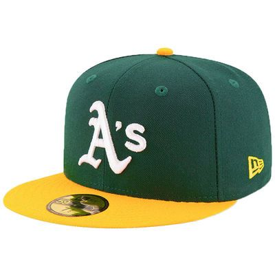 outlet store sale offer discounts amazon Men's New Era Green Oakland Athletics Victory Side 9FIFTY ...
