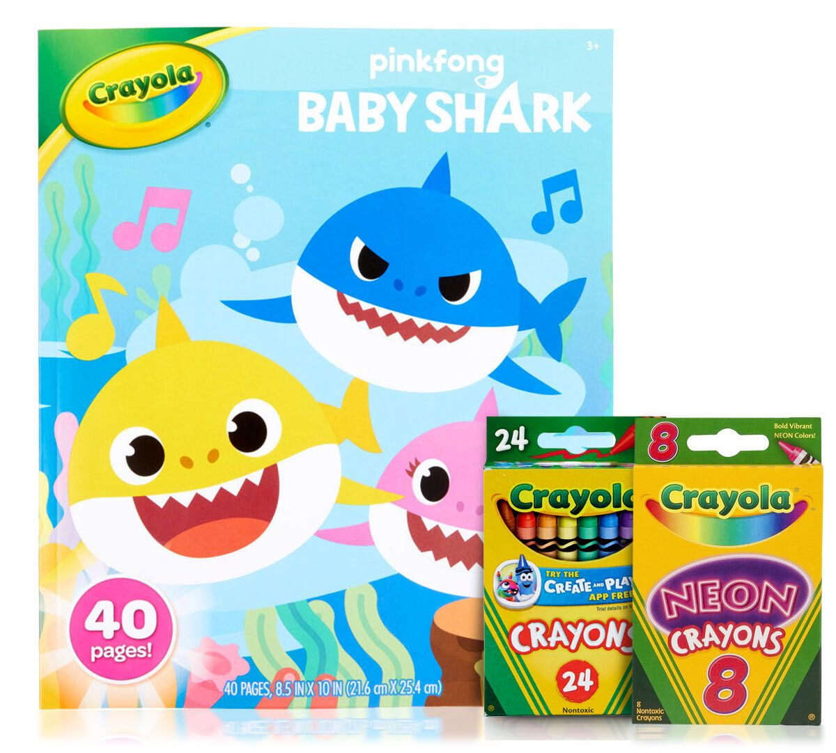 Crayola Baby Shark Coloring Book   Best Coloring Pages