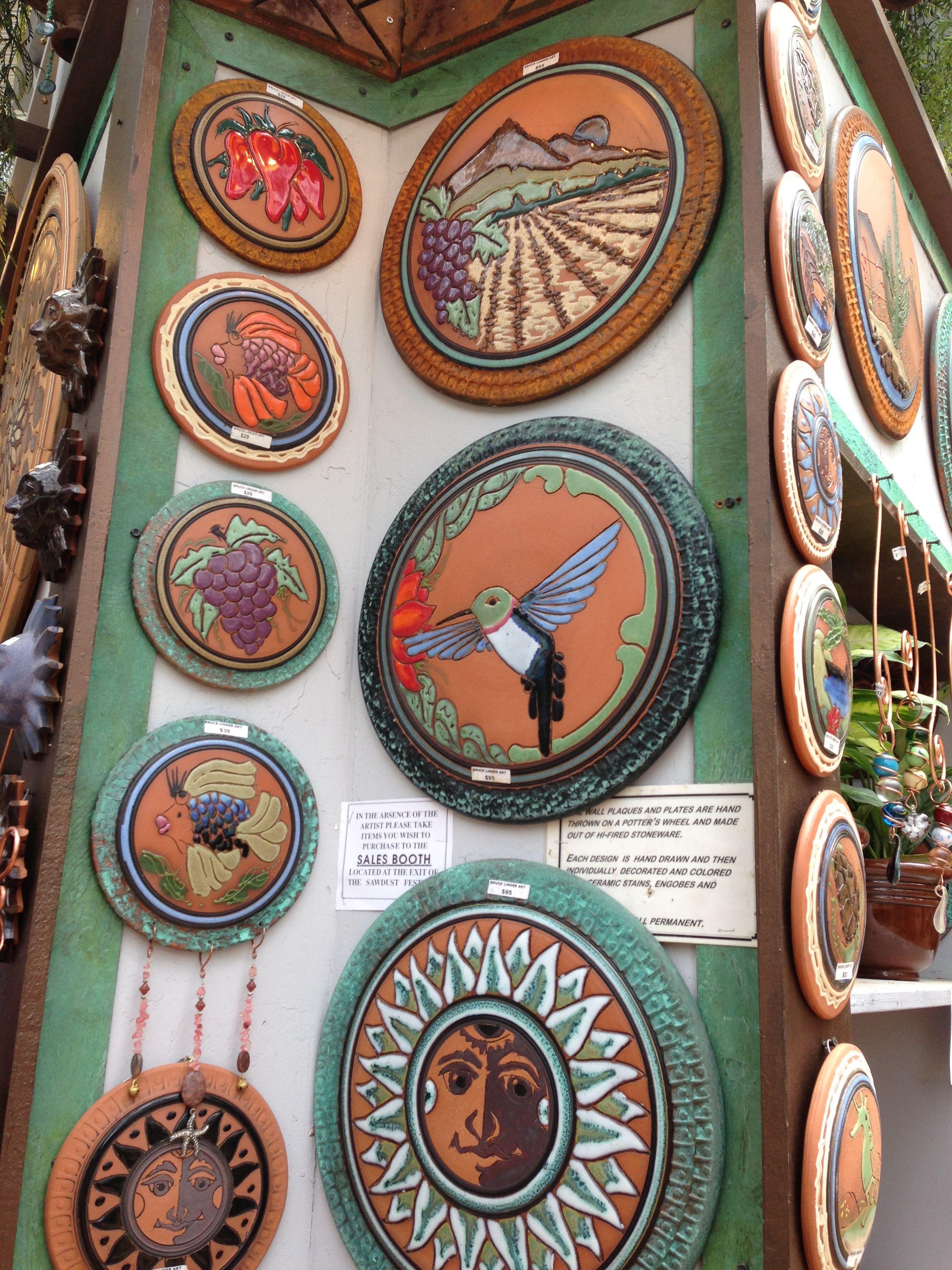 Ceramics Created By Bruce Linder At Sawdust Art Festival In Laguna Beach Sawdust Art Festival Ceramic Art Ceramics