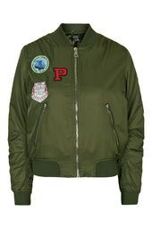 Badged MA1 Bomber Jacket