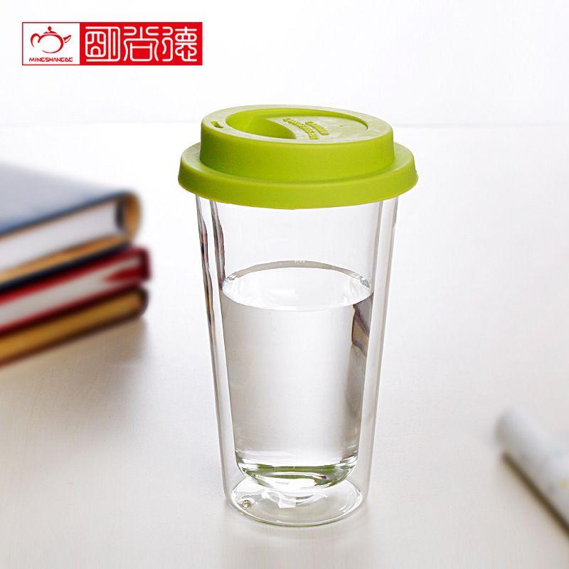 Double Walled Borosilicate Gl Mug For Coffee Clic Design Cup Mugs Tea Milk Juice