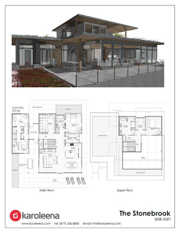 Modern Prefab Designs Home Building Design Modern House Plans House Plans