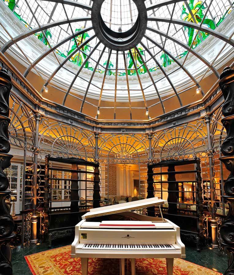Foyer Grand Sauvoy Nancy : Gazebo in the thames foyer savoy london just a