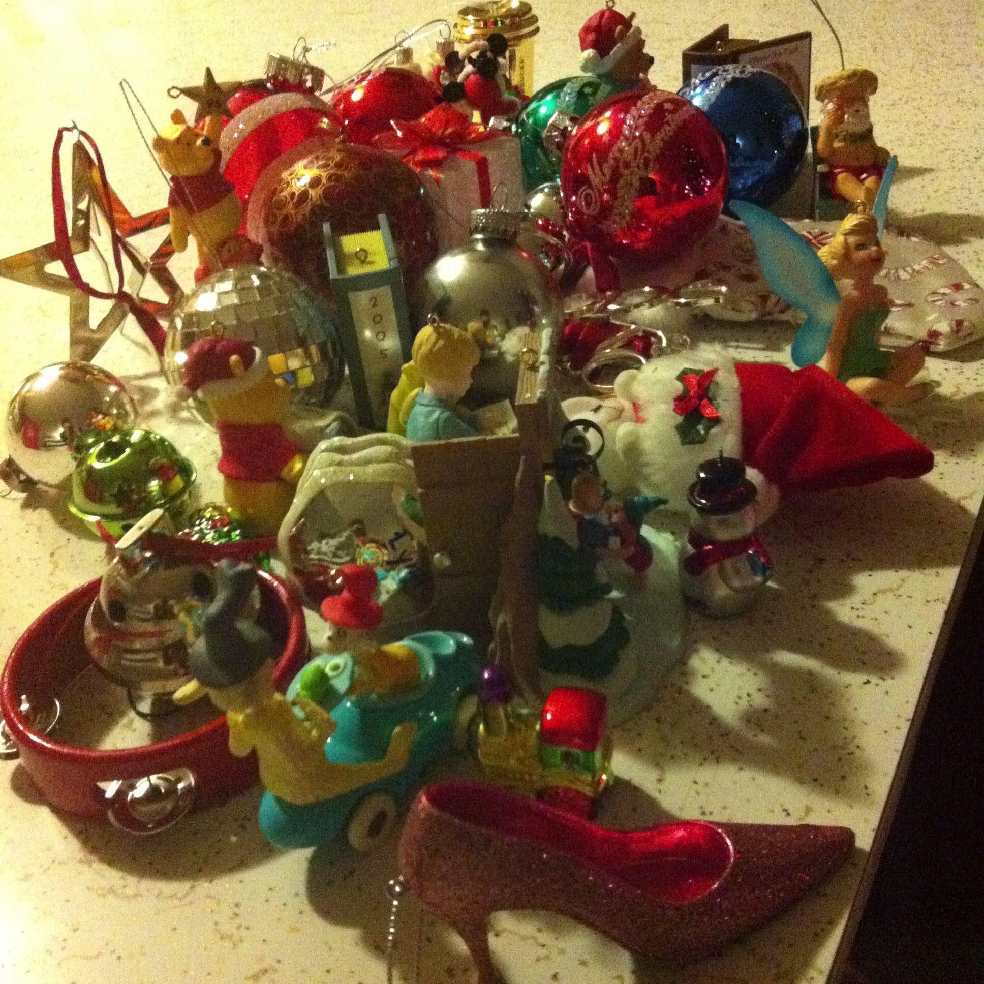 The end of Christmas 2012