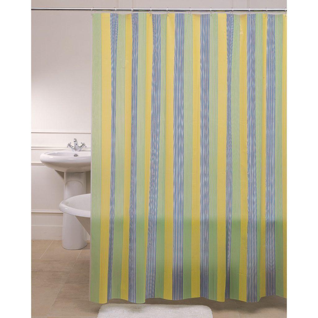Green Blue Yellow Shower Curtain | Shower Curtain | Pinterest ...