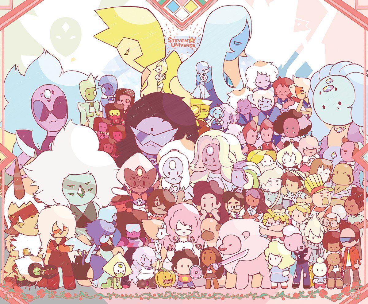 Todas Las Gemas Y Fusiones Steven Universo Desenho Desenhos Animados Arte De Fã