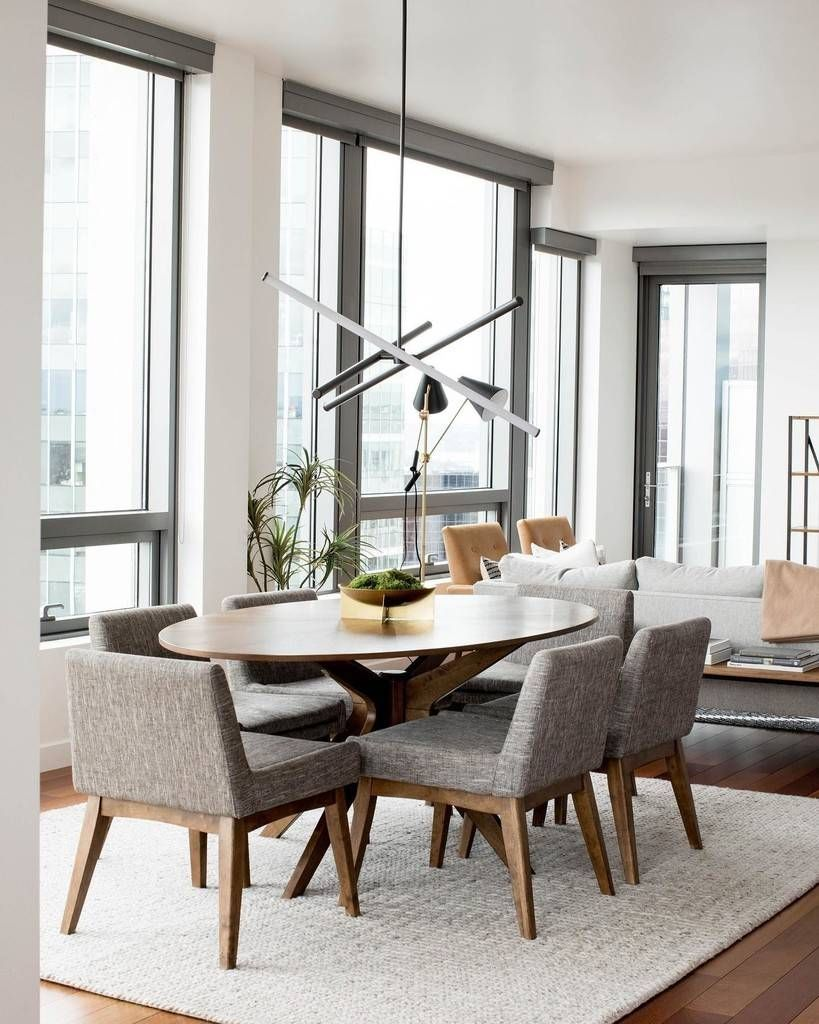 Chanel Volcanic Gray Dining Chair In 2020 Gray Dining Chairs