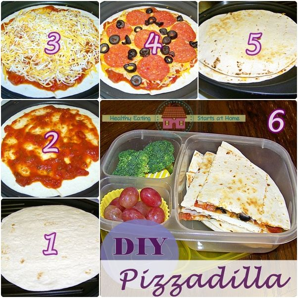 pizzadilla very easy and quick to prepare from healthy eating