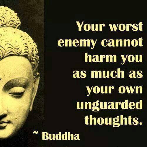 Buddha... wisdom.
