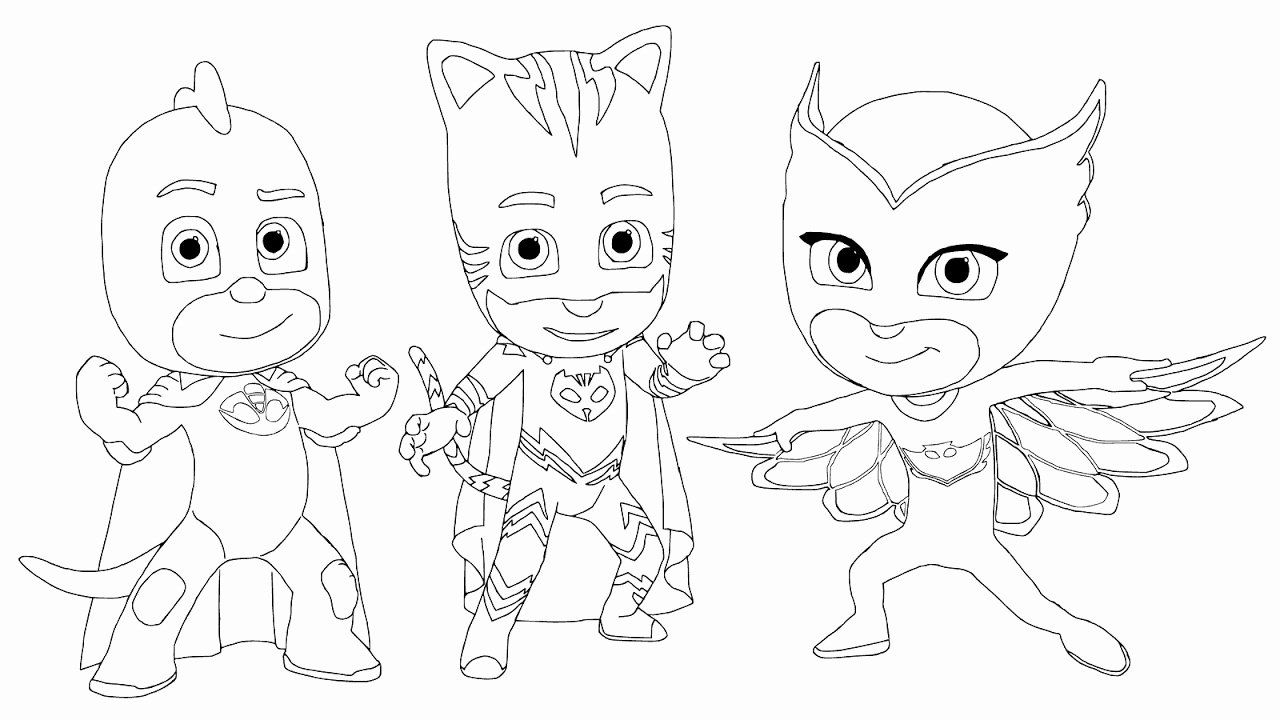 32 Pj Mask Coloring Page In 2020 With Images Pj Masks Coloring