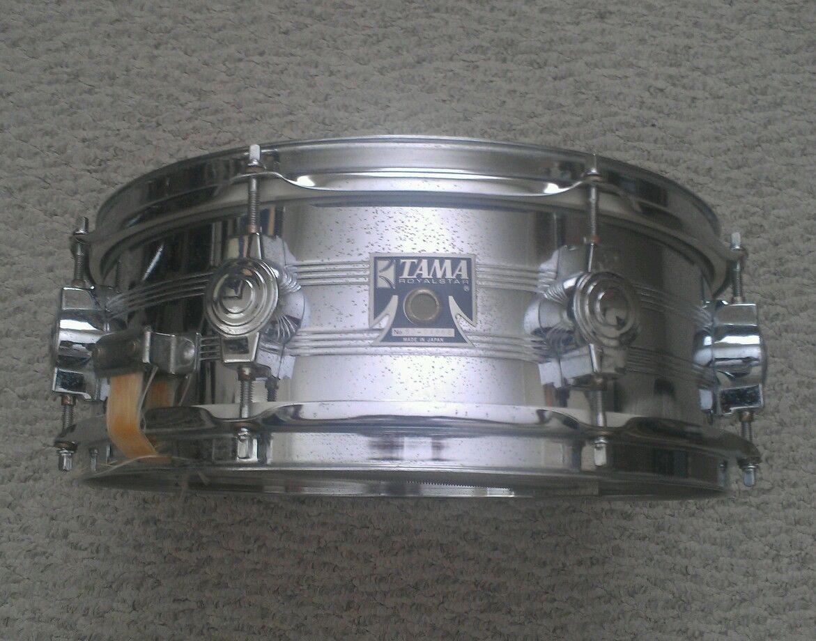 Vintage Tama Royalstar Snare Drum Dw Camco Lugs Ebay Vintage Drums Snare Drum Drums