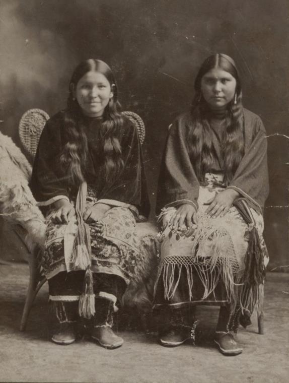 Comanche women - circa 1895