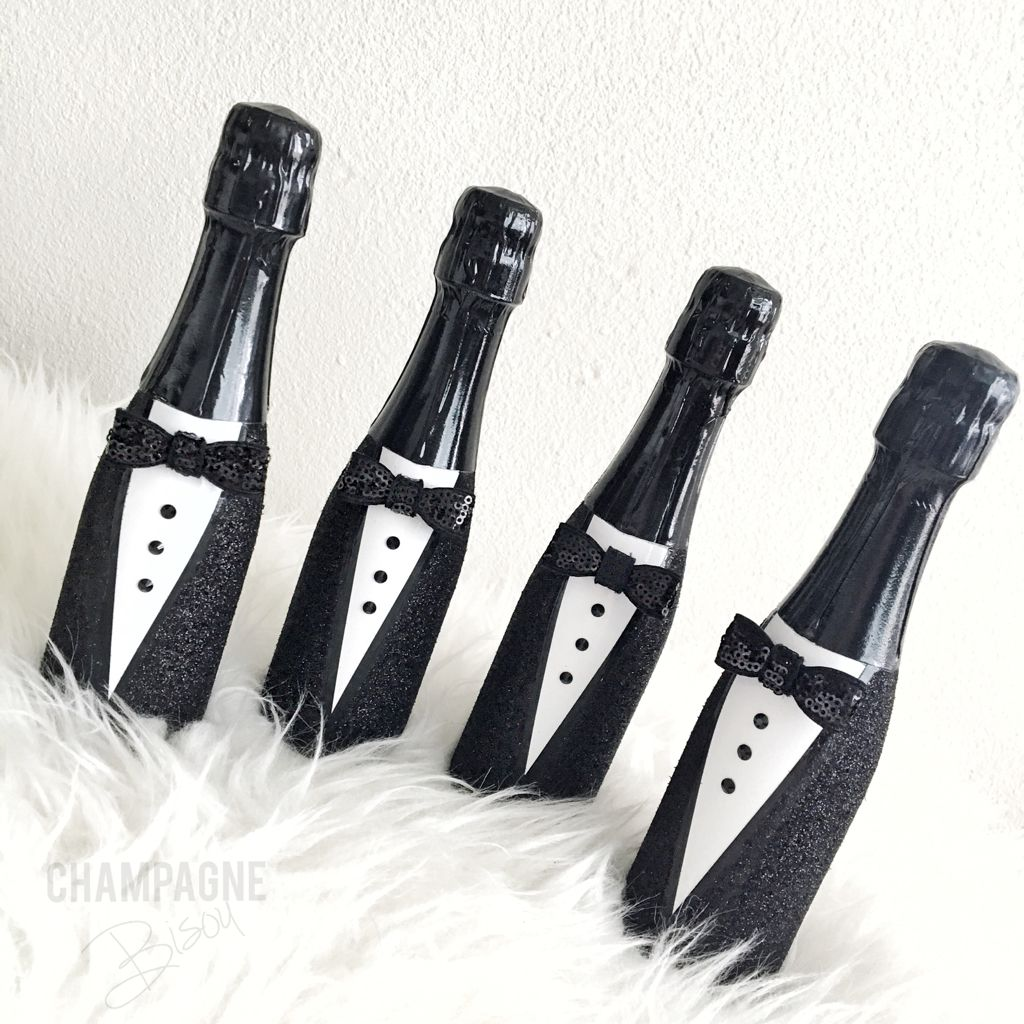 Champagne Groomies. Super adorable wedding favors for a Bridal Party ...