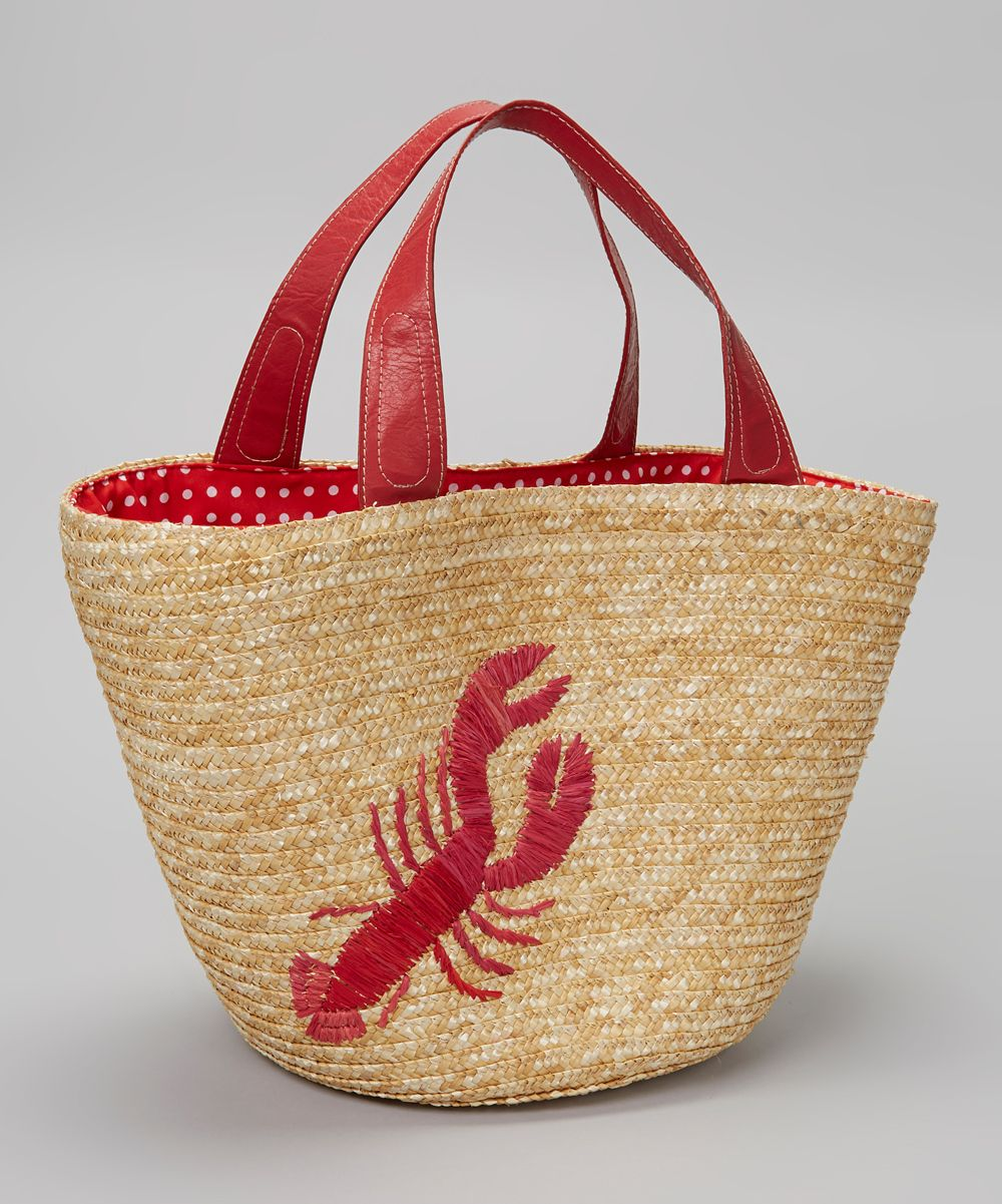 Straw Studios Red Lobster Tote Just Bought This At Beals