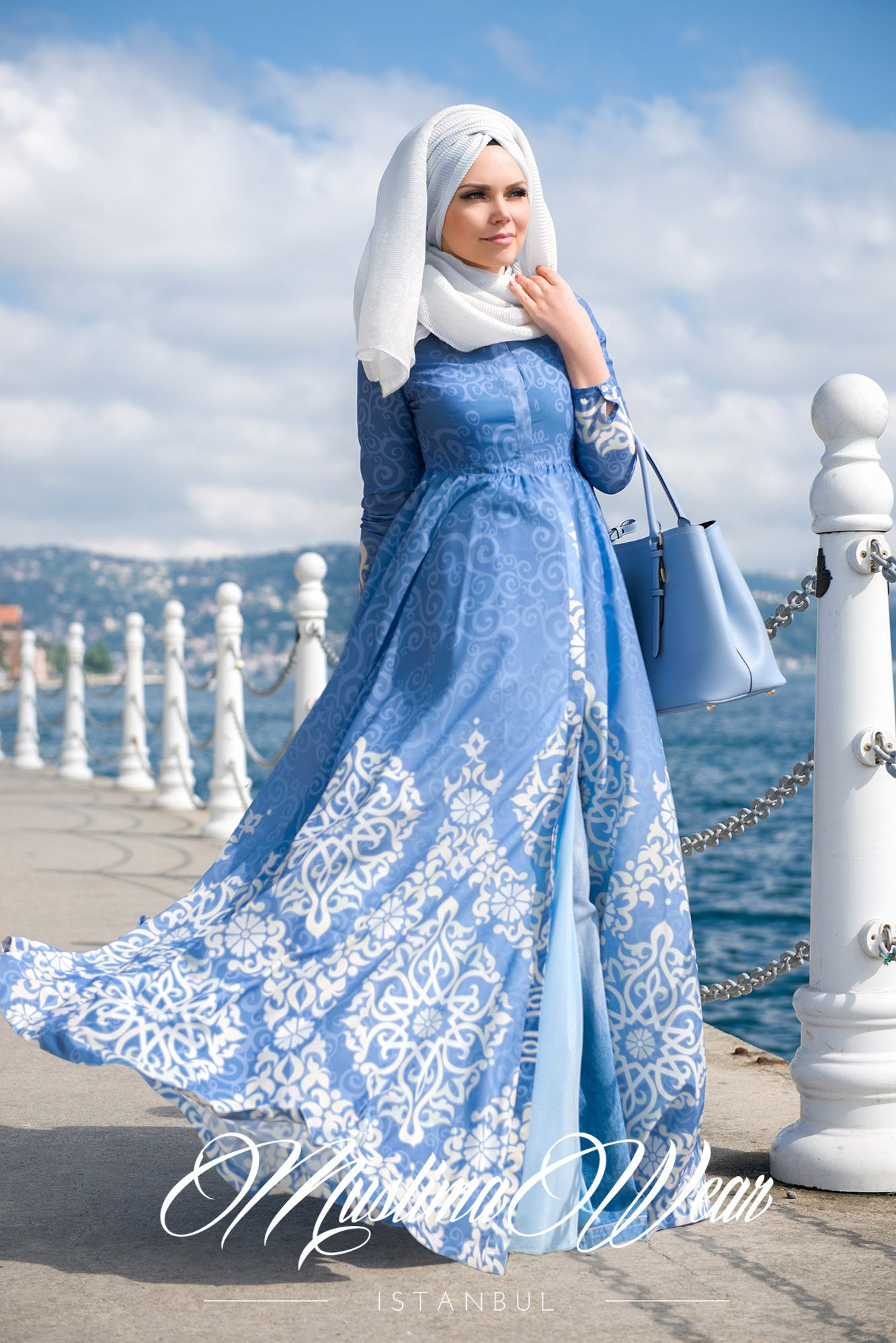 Muslima Wear Dress | Hijab Fashion | Pinterest | Pearls, Collection ...
