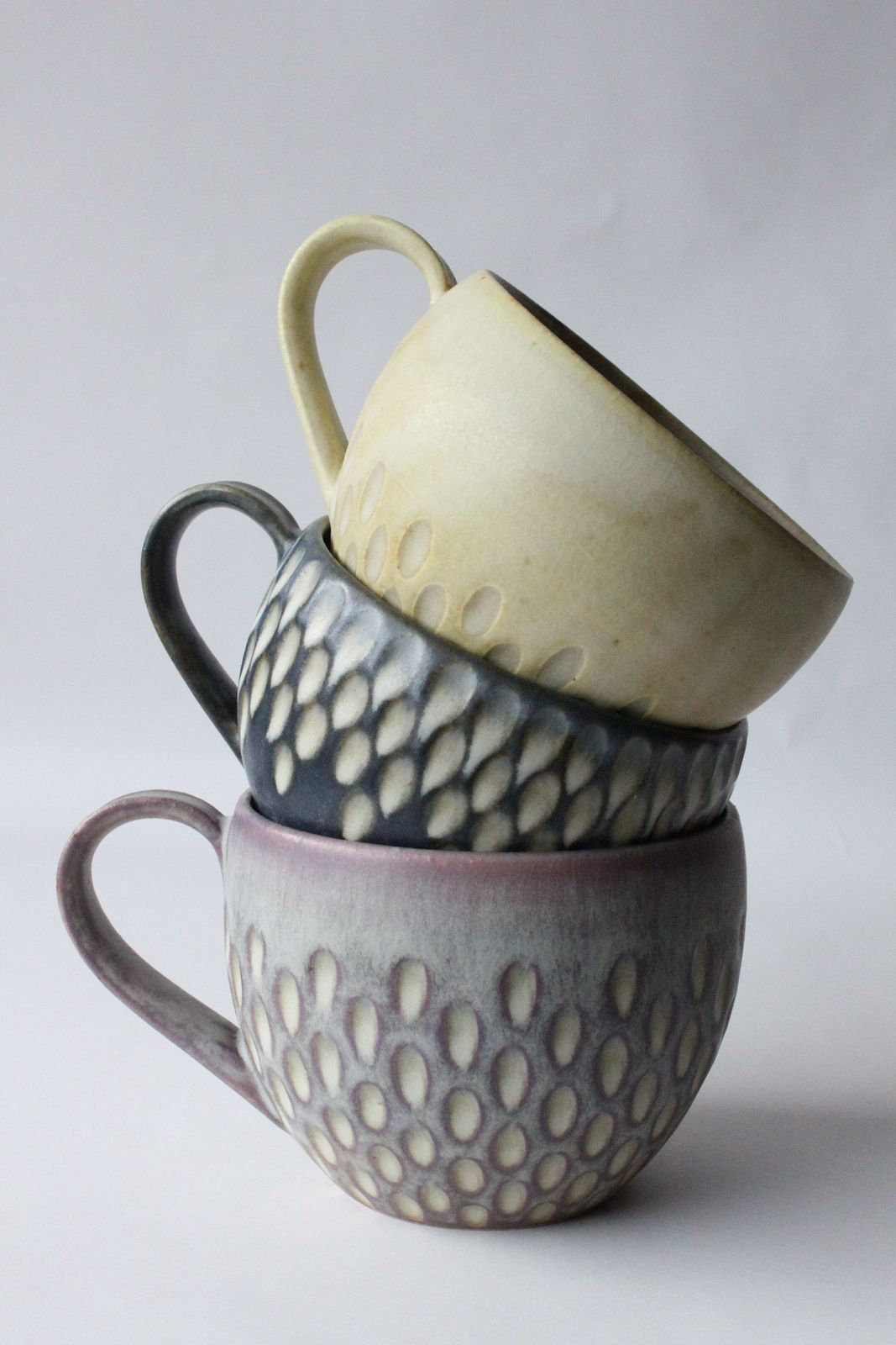 faceted mugs | Pottery, Clay and Pottery ideas