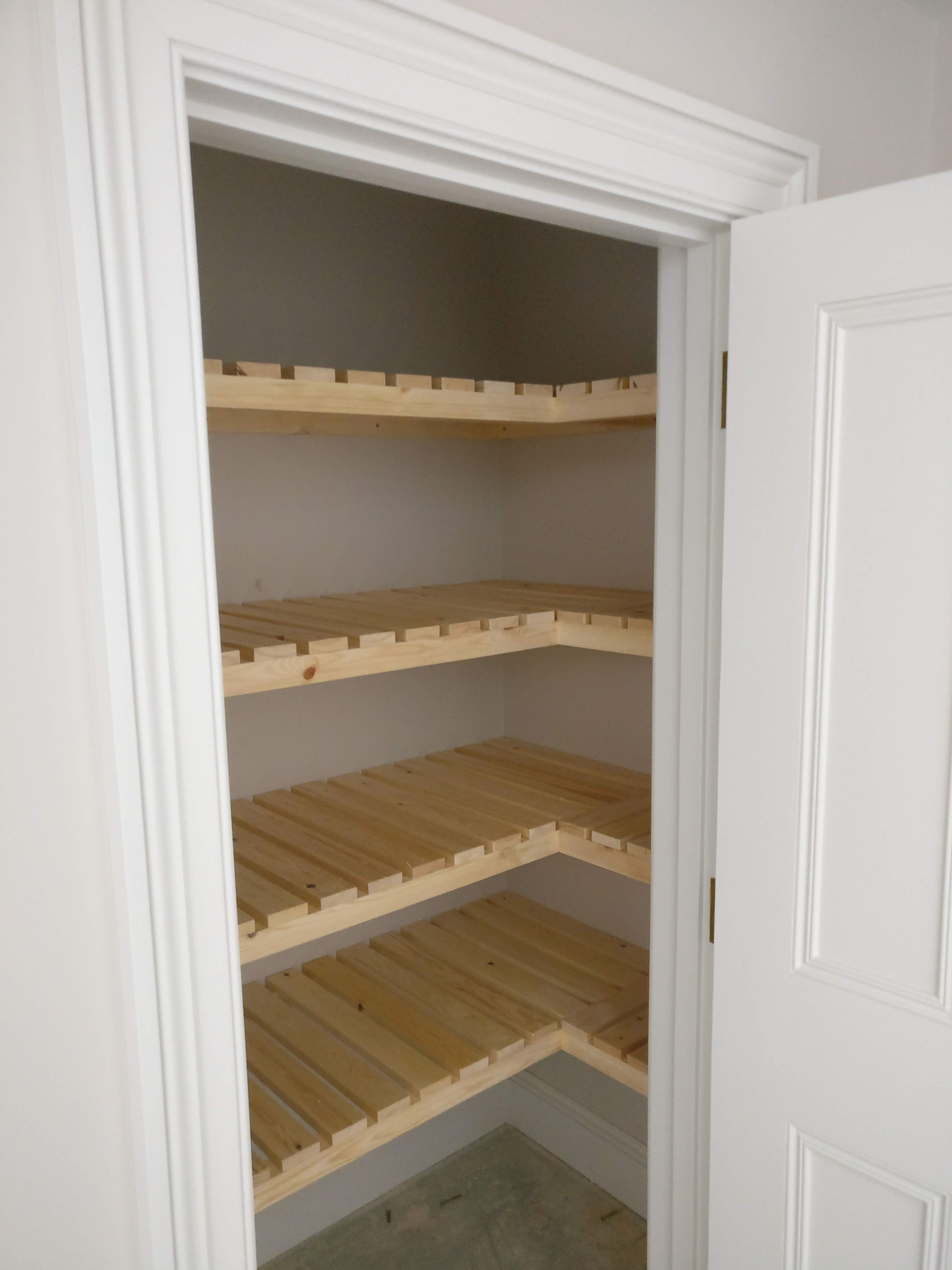 Built In Airing Cupboard Slatted Shelves That I Made In