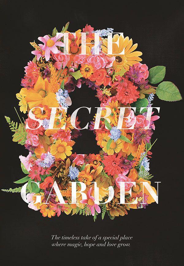The Secret Garden movie poster using a minimalist