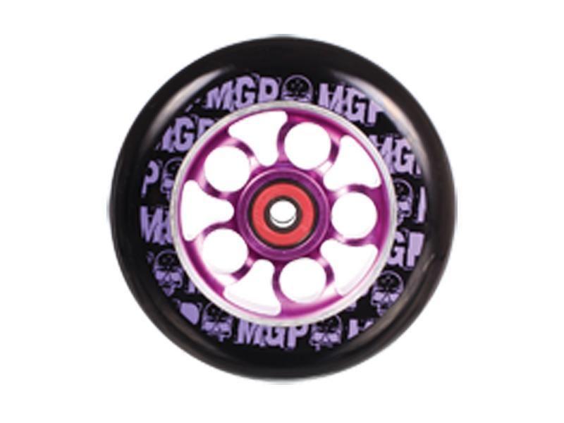 Madd Gear MGP Black PU / Purple Core 110mm Aero Scooter Wheel
