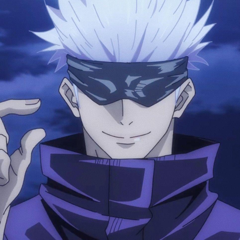 Satoru Icon Anime Gangster Jujutsu Anime Boy