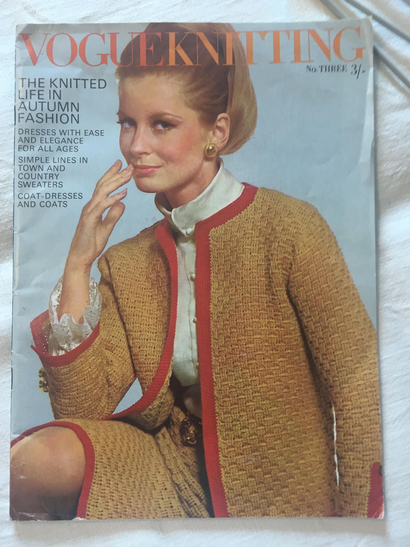 Enchanting Vogue Patterns Knitting Ensign - Blanket Knitting Pattern ...