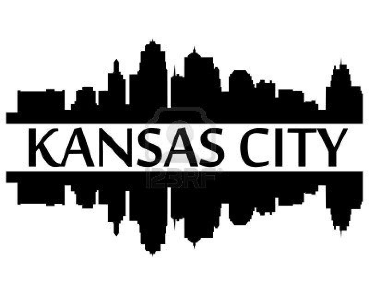 City Of Kansas City High Rise Building Skyline Kansas City Skyline Kansas City Royals Logo City Skyline Silhouette