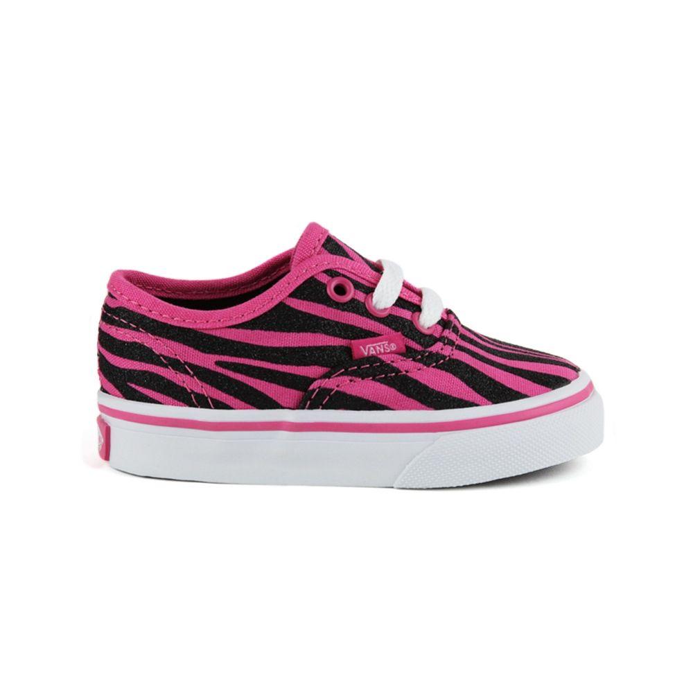86d11cebbd Toddler Vans Authentic Zebra Shoe