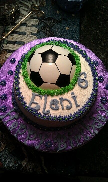 Soccer Birthday Cake Birthdays Pinterest Soccer Birthday