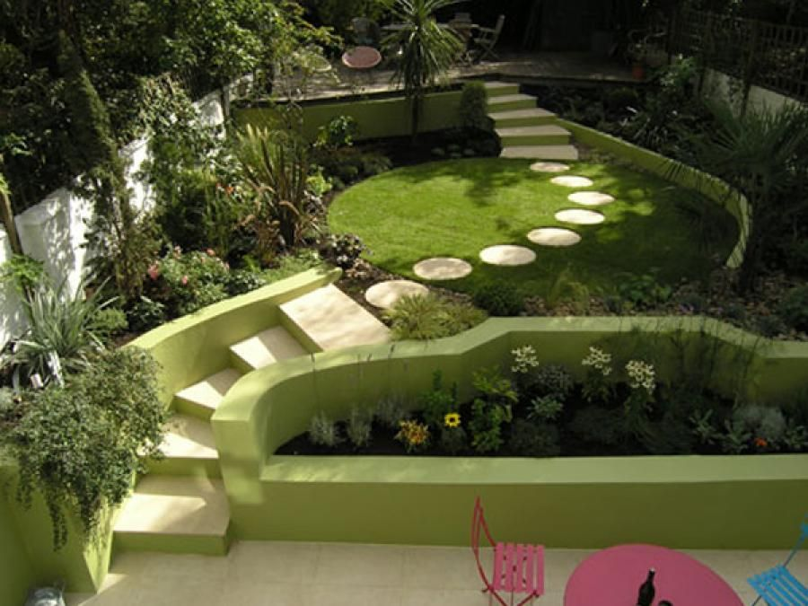 Caminos senderos jardin dstudio estudio paisajismo for Paisajismo patios