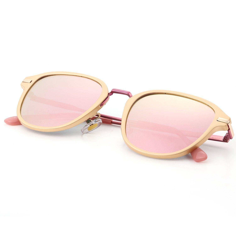 b6ef7cb6eeb2 Polarized Sunglasses Protection - Rose Gold Frame