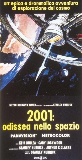 2001 Odissea Nello Spazio Movies Film Art Movie Posters