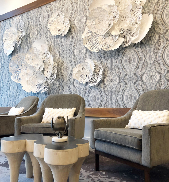 Savoy Vignette Interior Design Interior Design Wall Coverings Interior