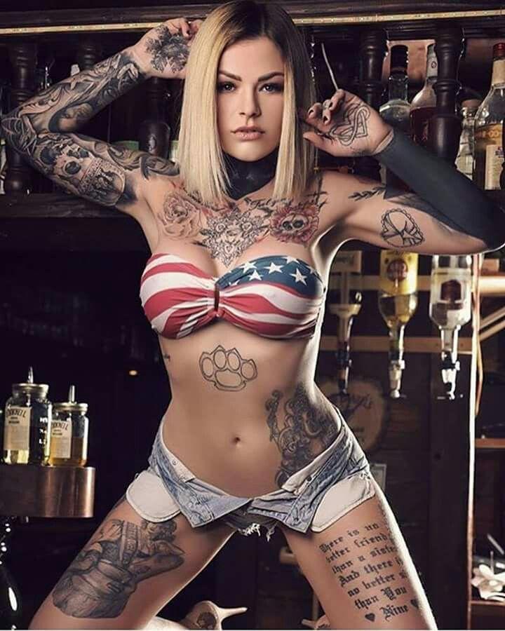 Крутые большие тату для женщин и большие 69