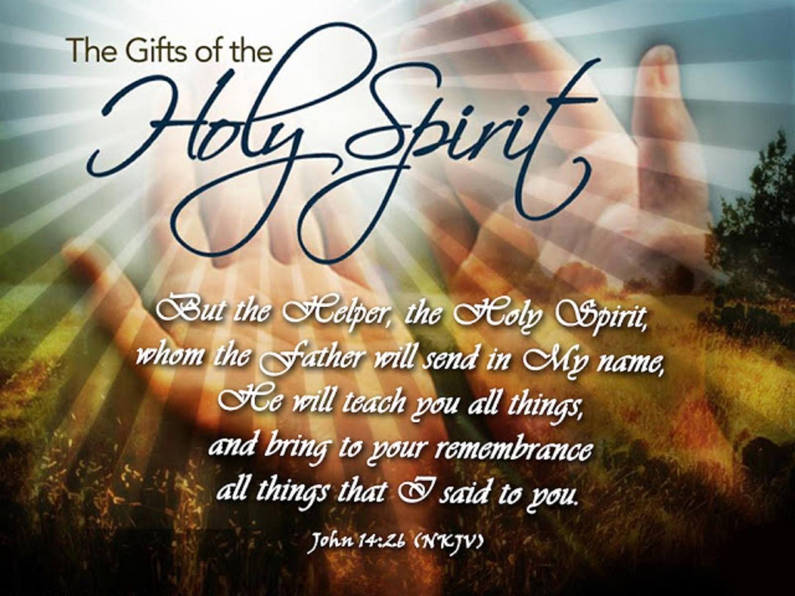 gifts of the holy spirit bible verse kjv