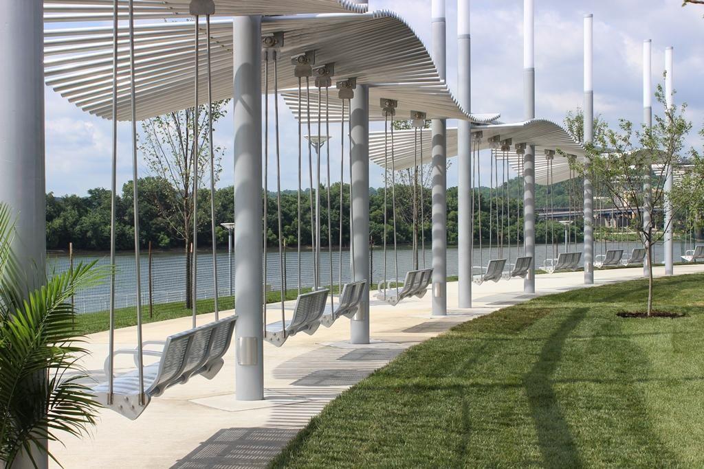 New Swings Open At Smale Riverfront Park | WVXU ...