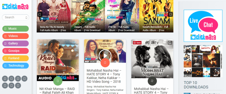 hindi songs free download sites list