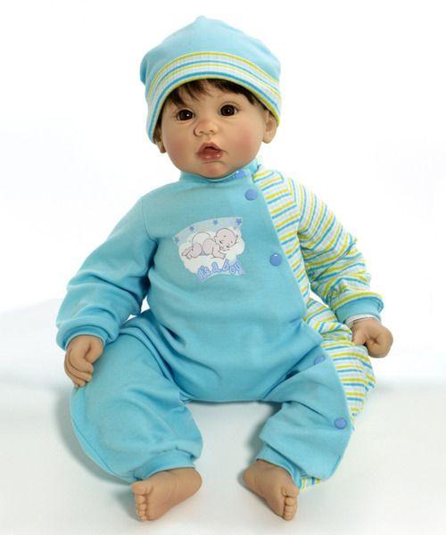 Cuddle Babies Lil Peanut 19 Inch Boy Doll Light Skin