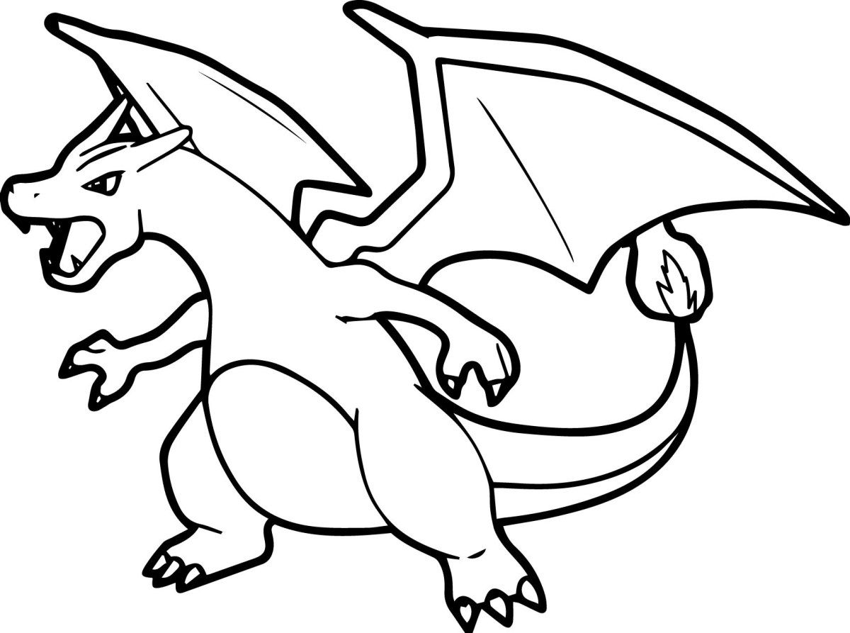 Pokemon Color Pages Pokemon Coloring Pages Charizard Coloring